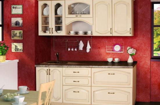 мебель и техника на маленькой кухне